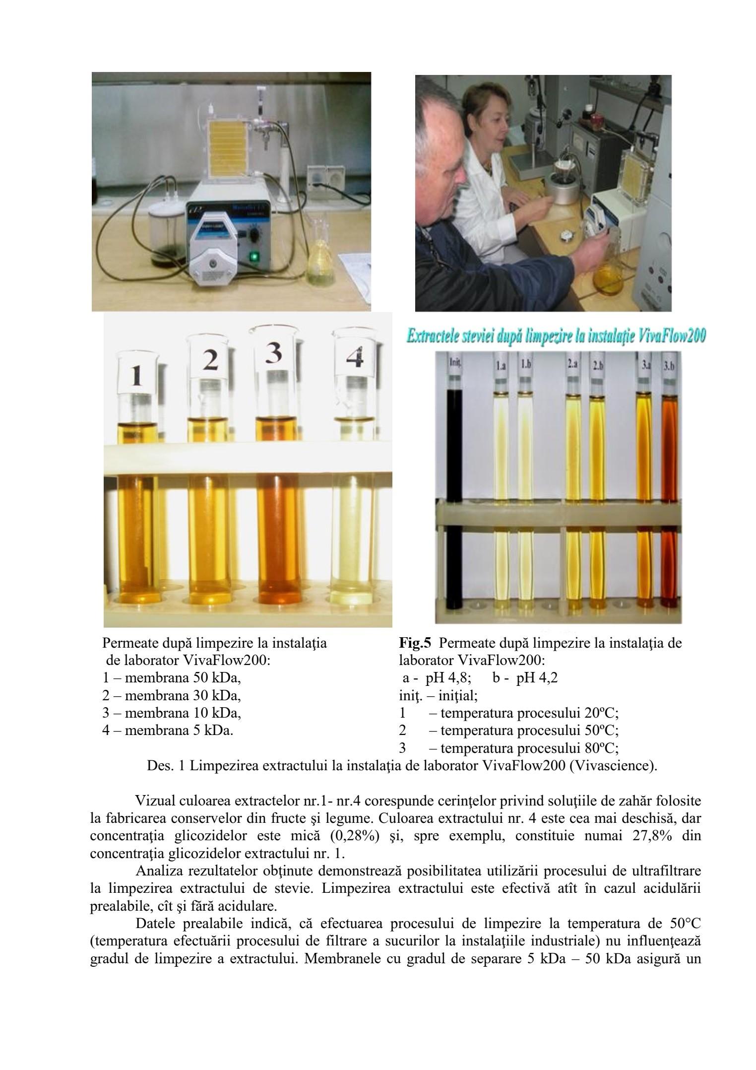 Optimizarea tehnologiei de fabricare a îndulcitorului natural din stevia şi a produselor alimentare dietetice cu utilizarea lui.