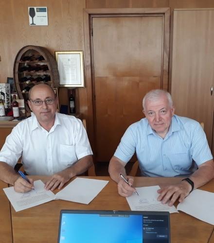 Semnarea acordului de colaborare cu ICDVV Valea Calugareasca din Romania din15.07.2021