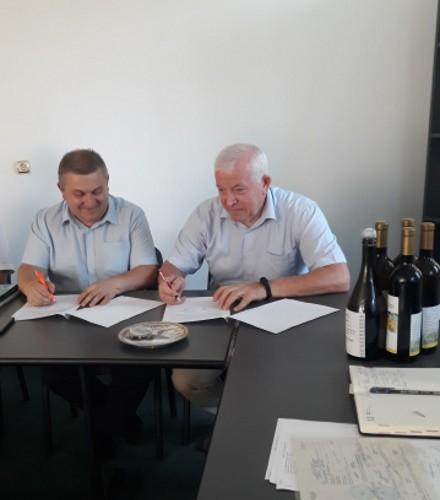 Semnarea acordului de colaborare cu INCDBH Stefanesti