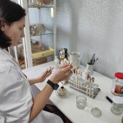 Îmbogățirea probelor de brînză în saramură