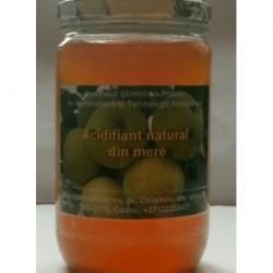 Elaborarea tehnologiei de producere a acidifianţilor din mere